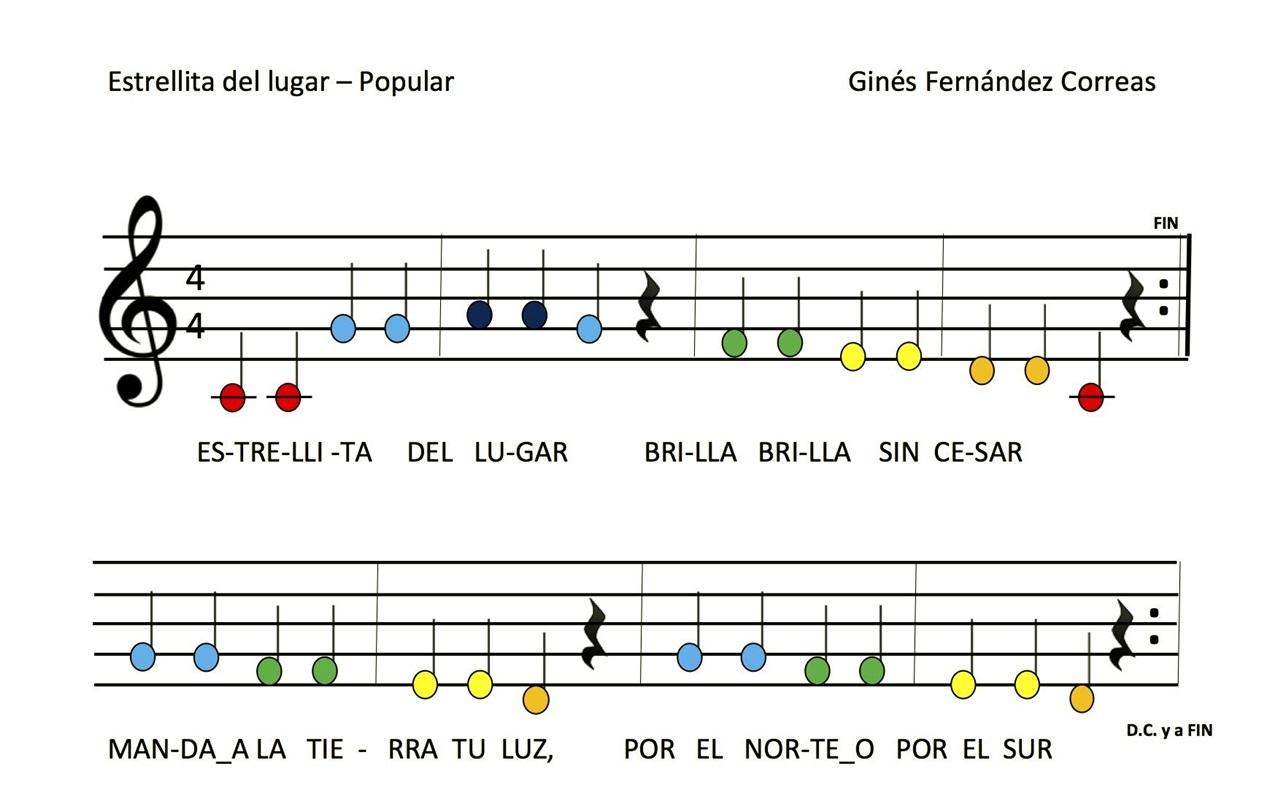 Canciones con xilófono